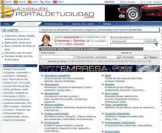 pagina web barata, pagina web barata alcobendas
