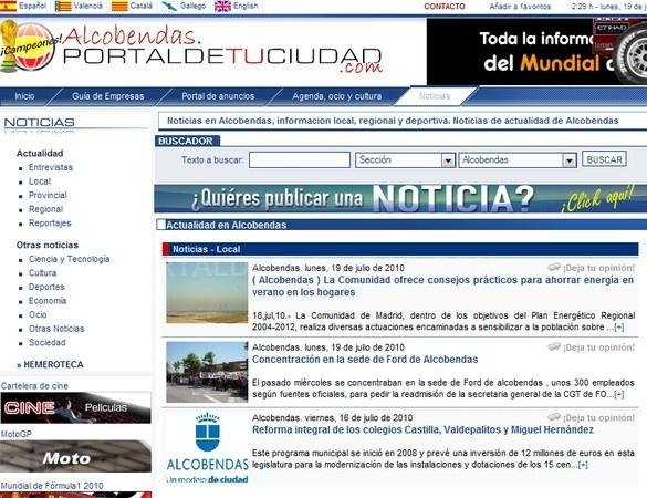 pagina web propia alcobendas, web economica alcobendas