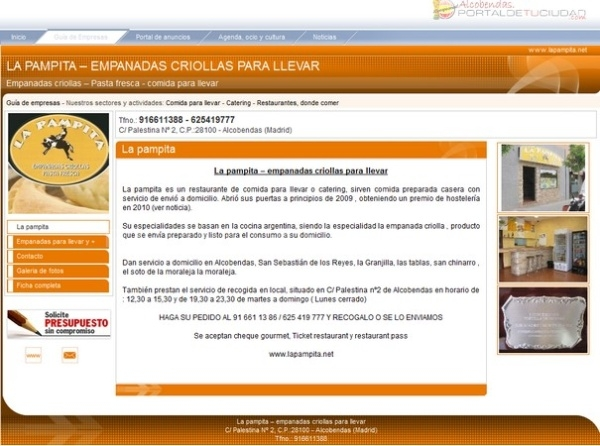 pagina web economica alcobendas, pagina barata alcobendas