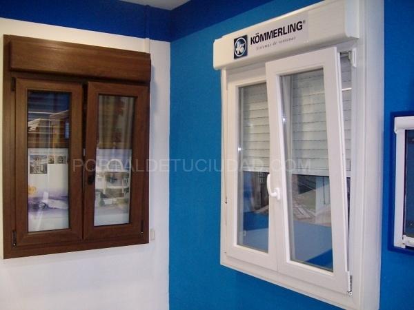 Carmal pvc y aluminio carpinter a de aluminio en - Distribuidores kommerling ...