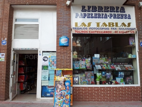 Papelería Librería Las Tablas