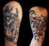 tatuajes en sanse,  diseños de tattoos en zona norte de madrid