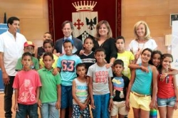 Decenas de familias de Alcobendas participan este año en el proyecto Vacaciones en Paz