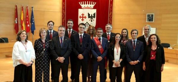 Cinco áreas de gobierno y catorce concejalías para el nuevo ejecutivo de Alcobendas