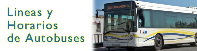 Lineas y horarios autobus Algeciras