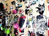 moto de segunda mano, casco, gafa, los barrios, yamaha, tienda de moto la linea