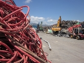 hierro,  industrial,  zinc,  proyecto, compactacion, desguace