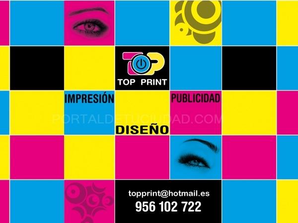 Top Print  -  Imprenta Barata, Imprenta Online.