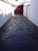 Hormigon impreso,  C. A. T. Bahia Sur los barrios, empresa de obras los barrios
