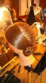 Peinados, tocados, keratina,
