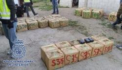 Algeciras: Intervenidas 1,4 toneladas de hachís en Los Barrios con seis detenidos en Algeciras