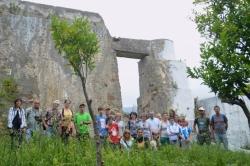 Tarifa: Socios de Mellaria visitan el molino de agua en Puertollano