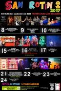 San Roque:  Hoy, últimas actividades de Sanrotín en el Teatro