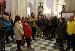Tarifa: Socios de Mellaria hicieron una visita cultural a la iglesia a la San Mateo