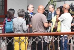 ALGECIRAS: LANDALUCE ANUNCIA LA REUNION A LAS CUATRO DE LA TARDE DE LA JUNTA LOCAL DE SEGURIDAD
