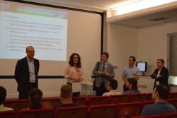 San Roque:  Bienvenida a los asistentes de los primeros seminarios del Curso de Verano de la UCA