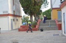 San Roque: Continúa la labor de limpieza del municipio, esta vez en la barriada de La Paz