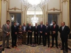 San Roque:  Ruiz Boix pide a Borrell que impulse sociedades mixtas con gibraltareños y se redacte el Plan Integral