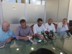 """La Línea:  El alcalde y el presidente de la Balona piden comprensión a la ciudadanía y aficionados ante la situación """"sobrevenida"""" provocada por los d"""