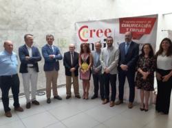 La Línea:  El alcalde ha participado esta mañana en la inauguración de la III Feria del Empleo organizada por la Cámara de Comercio en el Palacio de C