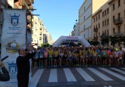 """Algeciras: """"Algeciras Corre"""" su sexta media maratón"""