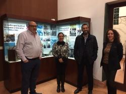 """La Línea:  El edificio Istmo-Comandancia alberga la exposición """"La radio que burló el bloqueo a Gibraltar"""" enmarcada en los actos del 50º aniversario"""