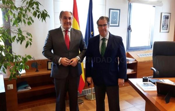 ALGECIRAS: LANDALUCE SE REúNE CON EL NUEVO DIRECTOR GENERAL DE TRáFICO