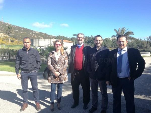 La Línea:  El alcalde participa en la jornada de puertas abiertas de la Estación Depuradora con motivo del Día Mundial del Agua