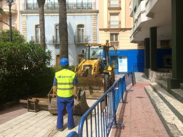 La Línea:  Iniciado el proyecto de obras de mejoras de las calles Alfonso X El Sabio, Cadalso y Doctor Villar