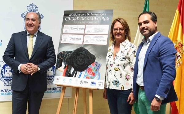 """Algeciras: Landaluce presenta el contenido de las XXXII Jornadas de Tauromaquia """"Ciudad de Algeciras"""""""