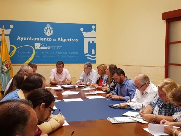 Algeciras: La Comisión de Hacienda aprueba las ordenanzas fiscales para el año 2018