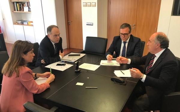 ALGECIRAS: EL PRESIDENTE DE ADIF SE REúNE CON LANDALUCE Y FENOY PARA ANALIZAR EL AVANCE EN LA VíA FéRREA
