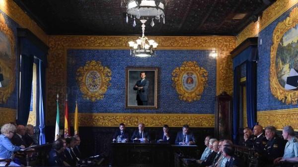 ALGECIRAS: LA JUNTA LOCAL DE SEGURIDAD REITERA LA UNIDAD Y LA COORDINACIóN PARA VENCER LA BATALLA DEL NARCOTRáFICO EN LA ZONA