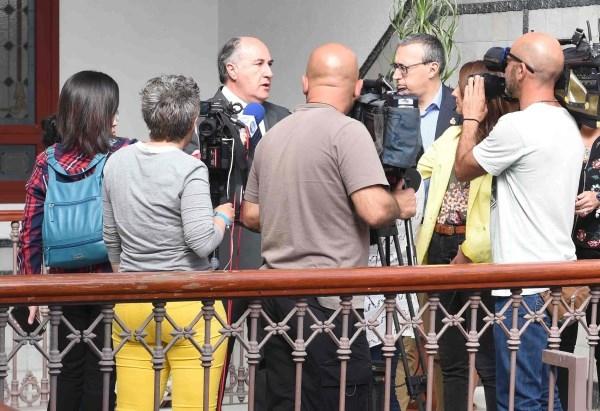 ALGECIRAS: LANDALUCE ANUNCIA LA REUNIóN A LAS CUATRO DE LA TARDE DE LA JUNTA LOCAL DE SEGURIDAD