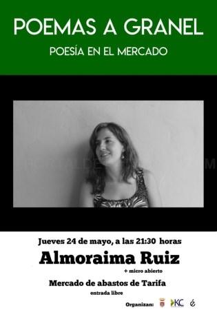 """Tarifa: Este jueves finaliza la primera temporada del ciclo """"Poemas a Granel"""" con Almoraima Ruiz"""