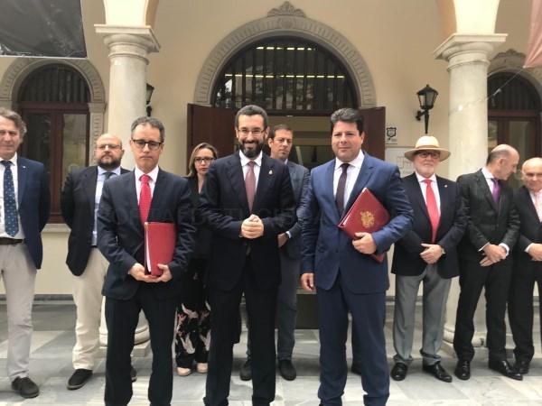 La Línea:  La Línea de la Concepción y Gibraltar organizarán conjuntamente actos con motivo del 50 aniversario del cierre de la frontera