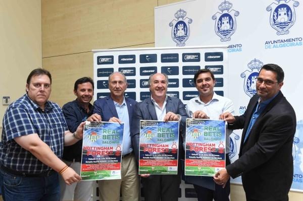 Algeciras: Landaluce presenta oficialmente el partido amistoso internacional entre el Real Betis Balompié y Nottingham Forest