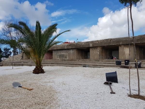 LA LíNEA:  EL AYUNTAMIENTO ADJUDICA TRABAJOS DE ADECENTAMIENTO DEL ENTORNO DEL BúNKER UBICADO TRAS LA JEFATURA DE LA POLICíA LOCAL