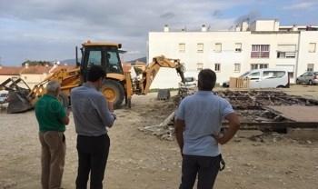 TARIFA: COMIENZA EL ACONDICIONAMIENTO DE LA BARRIADA SANTO DOMINGO DE GUZMÁN