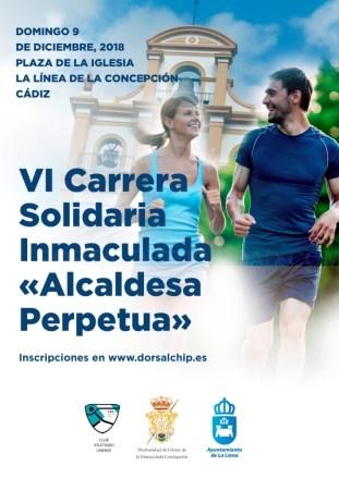 La Línea:  El domingo se celebrará la VI Carrera Solidaria Inmaculada Alcaldesa Perpetua con 469 inscritos