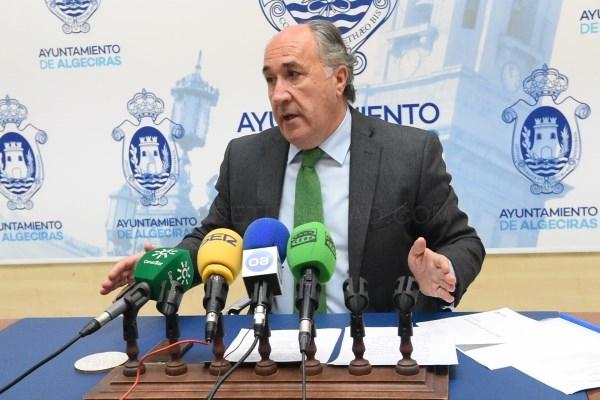 ALGECIRAS: EL ALCALDE INSISTE EN QUE LA RENOVACIóN DE LA ALGECIRAS-BOBADILLA DEBE CONCLUIR EN 2020
