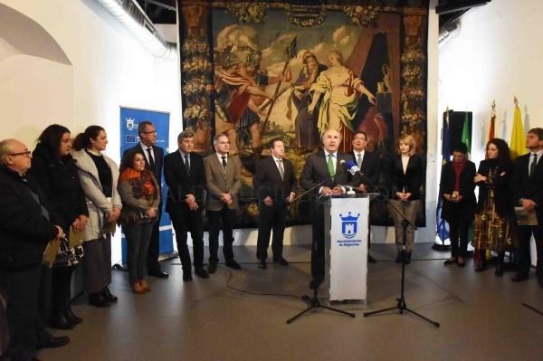 """ALGECIRAS: LANDALUCE INAUGURA LA EXPOSICIóN """"EL BARROCO EN LA FUNDACIóN CAJASOL"""""""