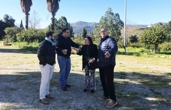 Algeciras: Zarzuela y Ávila visitan Cortijo Vides y La Yesera para anunciar actuaciones y programar nuevas mejoras