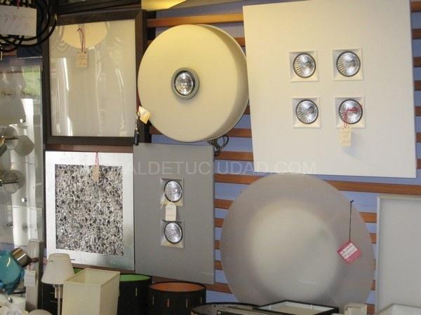 lamparas en madrid, lamparas de diseño en las tablas
