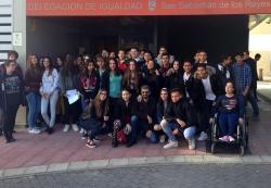 Cerca de 600 alumnos de E.S.O han participado en el programa 'Laberintos Amoroso' del Ayuntamiento de San Sebastián de los Reyes