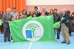 Dos 'ecoescuelas' de San Sebastián de los Reyes renuevan el distintivo 'Bandera verde' y otras más lo reciben por primera vez