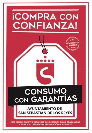 San Sebastián de los Reyes fomenta el 'Consumo con garantías' con el objetivo de impulsar la excelencia hacia los consumidores