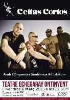 "Espectacle ""Celtas Cortos & Orquestra Simfònica AD LIBITUM"""