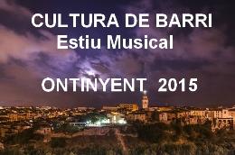 CULTURA DE BARRI  -  ESTIU MUSICAL 2015