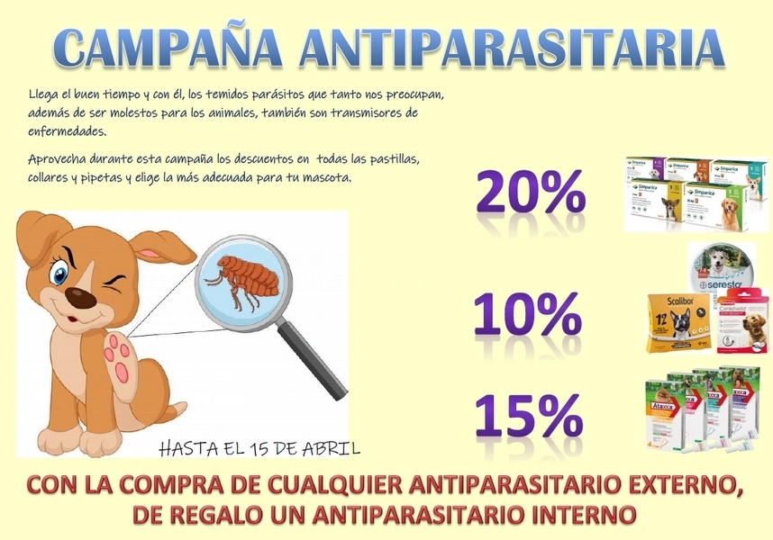 Campaña antiparasitaria